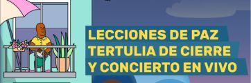 Tertulia de cierre: lecciones de paz y concierto