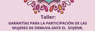 Taller ORMUVA - JEP